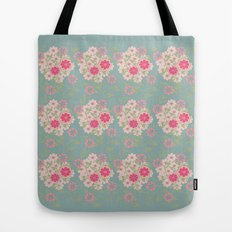 Flower pad Tote Bag