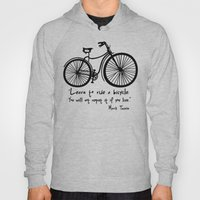 Learn To Ride A Bicycle.… Hoody
