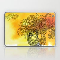 PEACOCKS CAN FLY Laptop & iPad Skin