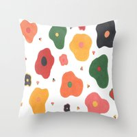 Summertime Reunion Throw Pillow