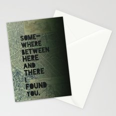 Here & There III Stationery Cards