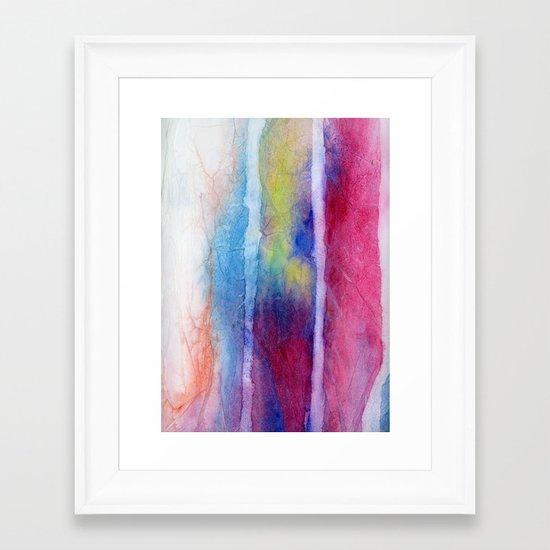 Skein I Framed Art Print