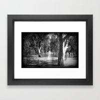 Line of Light Framed Art Print