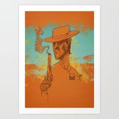 Sharp Shooter Art Print