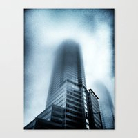 Haze Canvas Print