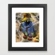 Lost Mage Vivi Final Fan… Framed Art Print