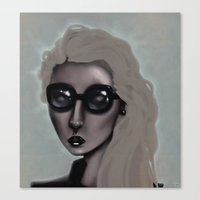 Shades With A Glow Canvas Print