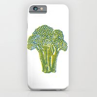 iPhone & iPod Case featuring Broccoli by Lina Littlefield