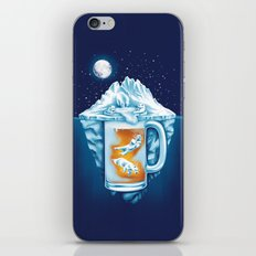 The Polar Beer Club iPhone & iPod Skin