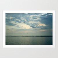Lake Erie Twilight Art Print