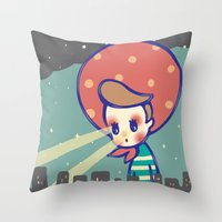 Girl Games Throw Pillow