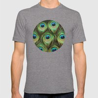 Art Alive  Mens Fitted Tee Tri-Grey SMALL
