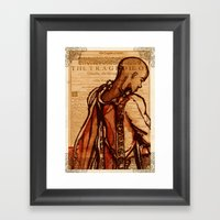 Othello - Shakespeare Folio Illustration by Immortallongings Framed Art Print