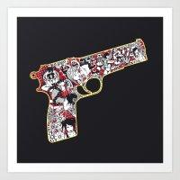 Love Gun Art Print