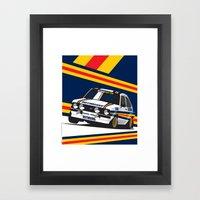 Ford Escort RS2000 Framed Art Print