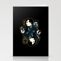 The Detective Of 221B Stationery Cards