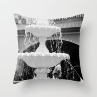 Gloria Jeans Coffee Throw Pillow