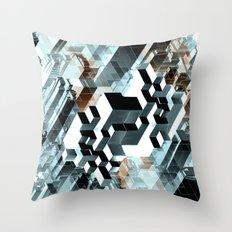 Sim City Throw Pillow