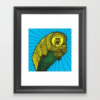 Tardigrade Framed Art Print