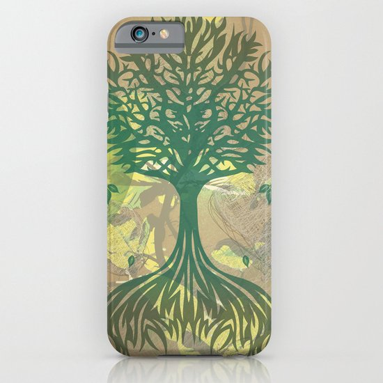 Color My World Green iPhone & iPod Case