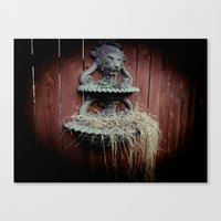 A Symbol For The King Canvas Print