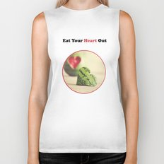 Eat Your Heart Out Biker Tank