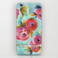 Rain Flower iPhone & iPod Skin