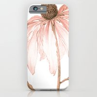 iPhone & iPod Case featuring Pale Pink Petals by Kokabella