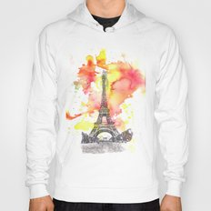 Eiffel Tower in Paris France Hoody