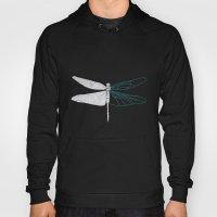 Geometric Dragonfly Hoody