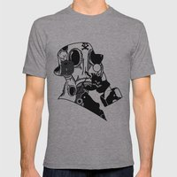 My Dexterous Shadow  B&W 1 of 4 Mens Fitted Tee Athletic Grey SMALL