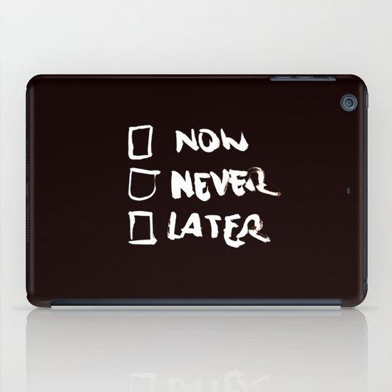 Later (Version #2) iPad Case
