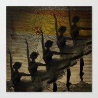 Bailarina, Diz Pra Mim, … Canvas Print