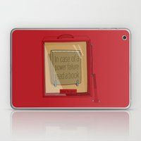 In case of a power failure: read a book Laptop & iPad Skin