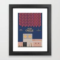 Mon Oncle - Jacques Tati Movie Poster Framed Art Print