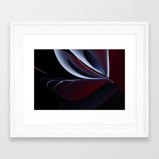 Lights and Shadows Framed Art Print