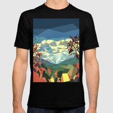 Landshape Black SMALL Mens Fitted Tee