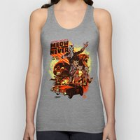New Wave Laser Cats 2: Meow or Never Unisex Tank Top