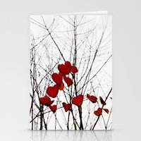 Love Leaves Stationery Cards