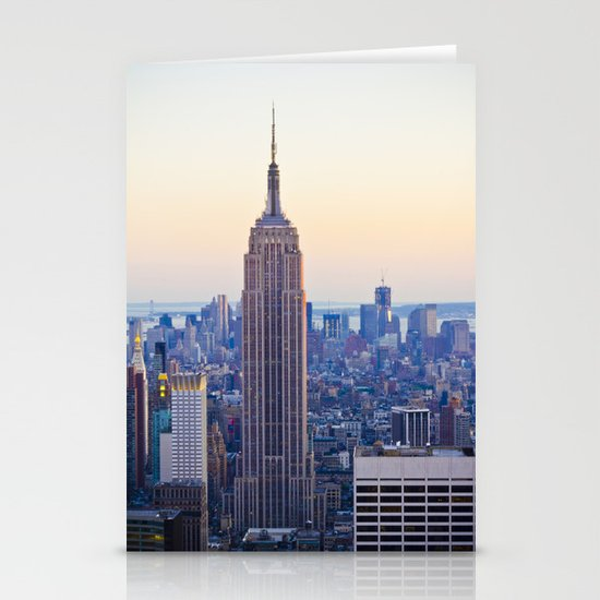 The Empire State Building Stationery Card