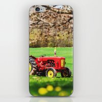 Vintage Farming iPhone & iPod Skin