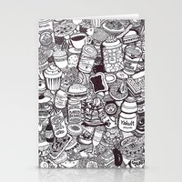 food Stationery Cards featuring FOOD by Candice Soon