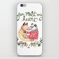 Melt My Heart iPhone & iPod Skin