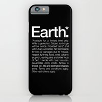 iPhone & iPod Case featuring Earth.* Available for a limited time only. by WORDS BRAND™