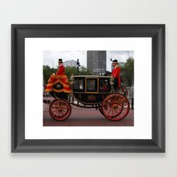 The Royal Carriage 8 Framed Art Print