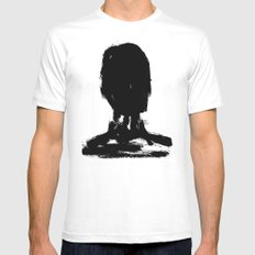 Avatar Mens Fitted Tee White SMALL