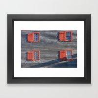 Old Window Study # 22 Framed Art Print