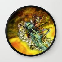 Every Missile Explodes Wall Clock