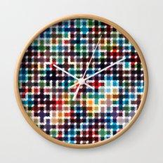 Rope Geometric Art Print. Wall Clock