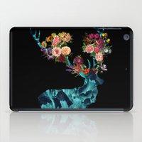 Sprint Itself Deer Floral Dark iPad Case